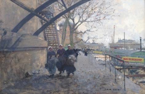Luigi Loir, Sous Le Pont