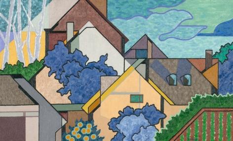 Easton Pribble, Suburban View No. 6