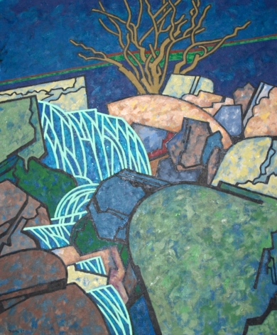 Easton Pribble, Lover's Brook Falls