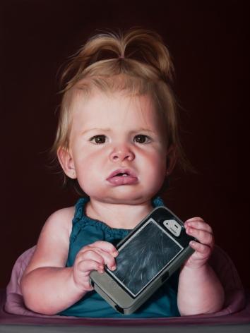 Katie Miller_Baby with a Dead Phone_emerge art fair
