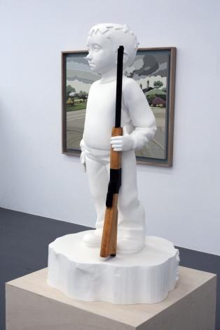 KENNY HUNTER_Boy with rifle