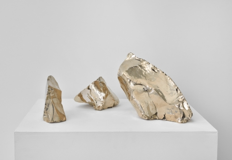 Rob Wynne, Glass Rocks, 2016