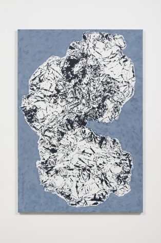 Florence Derive White Cloud on Blue, 2015