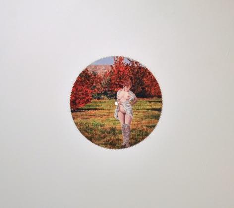 Betty Tompkins, Fall Foliage, 2000