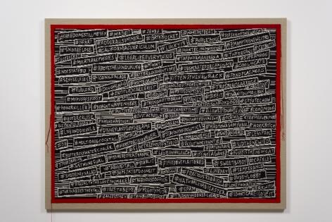 Lisa Anne Auerbach, #HASHINGITOUT, 2014