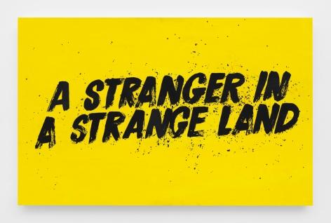 A Stranger in a Strange Land, 2018