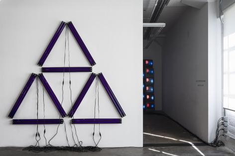 Installation view, Black Is A Color (2021), GAVLAK Los Angeles