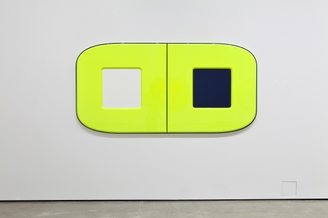 Untitled (parkinson's), 2015, Urethane paint on mdf