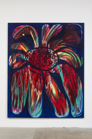 Amy Bessone Small Town Parade (Red Blue), 2014