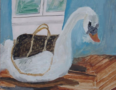 Still Life (Louis Vuitton and Swan), 2009