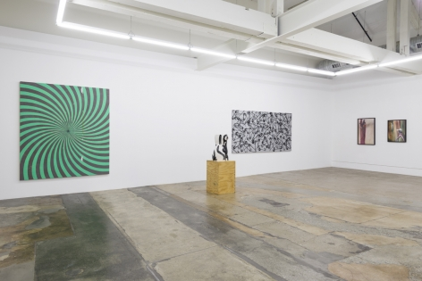 Installation view ofSummer Group Exhibition