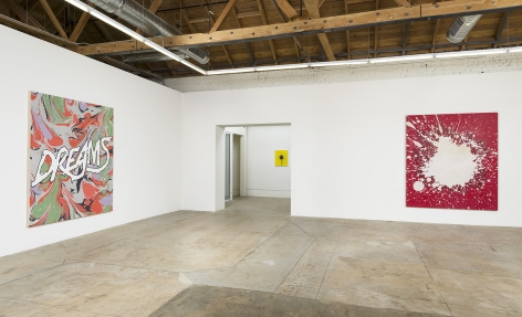 "Installation view of Andrew Brischler ""Storms"""