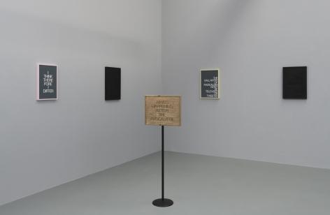 """Installation view of """"Absurdist Logic"""""""