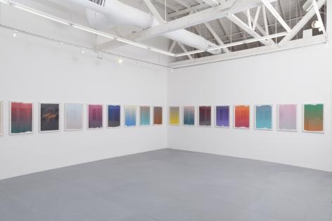 "Andrew Brischler, ""Lonely Planet"", 2017, Install view"