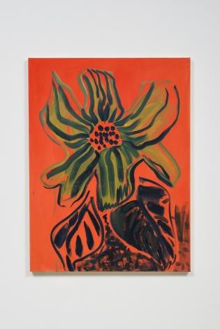 Christmas Day Divorcée Flower 12.25.15, 2015, Oil on canvas