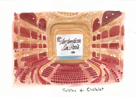 Konstantin Kakanias, Stage Debut of a Gershwin Classic (Theatre du Chatelet), 2014