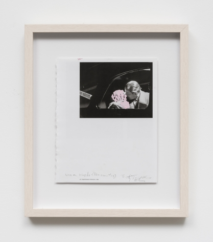Betty Tompkins Women words (Brassaï #15), 2019