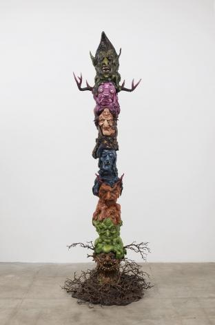 Marnie Weber, Witch Totem, 2016