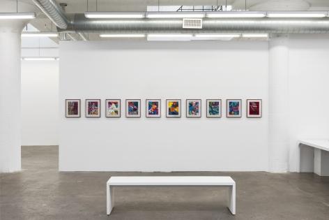 Installation view Candida Alvarez:Palimpsest(2021)