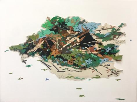 Francesca Gabbiani, Leftovers, confetti dream, 2015