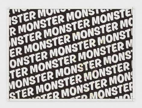 Andrew Brischler MONSTER (Charcoal Forever), 2018-2019