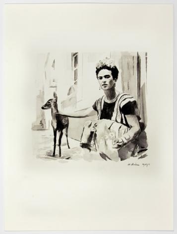 Frieda #2, 2014, Watercolor on paper