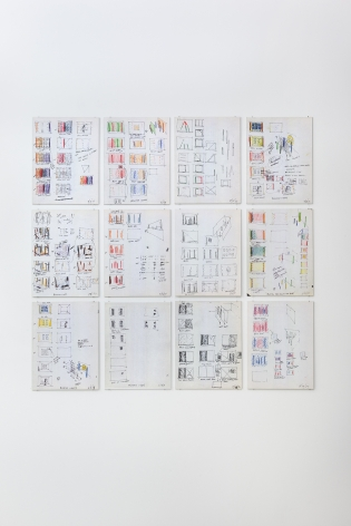 David Haxton, 12 Sketches for Films, 1972-1977