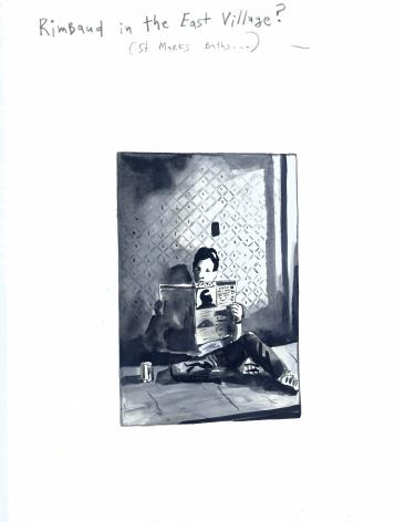 "Konstantin Kakanias, The Bibliophile's 401(k) (David Wojnarowics: Rimbaud in New York 1978-79"" Roth Horowitz, LLC/PPP Editions, 2004), 2013"