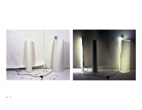 (No. 76) Inside and Out White Cylinder, 1979