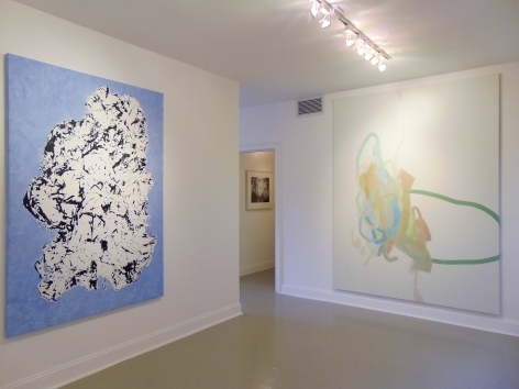 Florence Derive, Judith Eisler, and Michael Manning on view during Judith Eisler Gloria (from Left to Right)