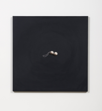 I'll Never Forgive You For This (Duo Tone Balls), 1990, Oil on canvas