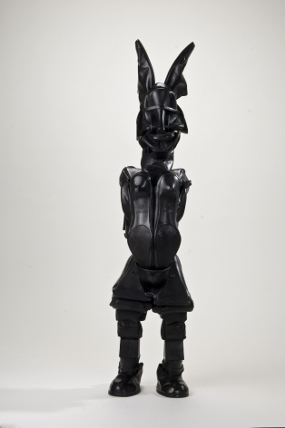 Willie Cole, Downtown Goddess, 2012