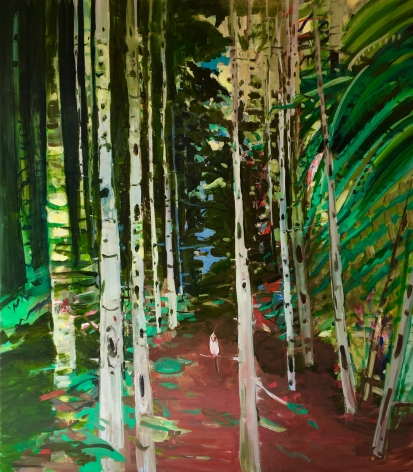 Deborah Brown Red Path, 2017