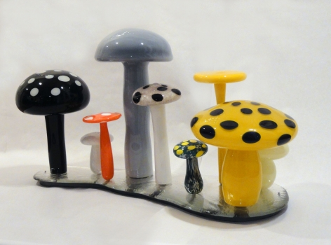 Rob Wynne, Wild Mushroom, 2006 - 2008