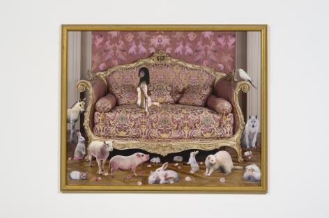 Marnie Weber Pink Bed, 2001