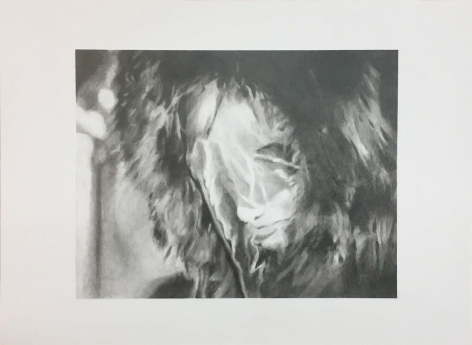 Marisa Mell (MM2), 2011, Graphite on paper