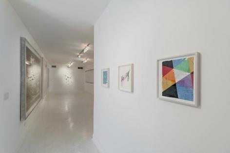 "Andrew Brischler, ""I Made It Through The Wilderness"", 2013, install view"