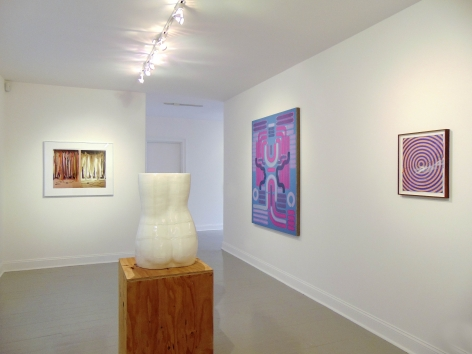 David Haxton, Amy Bessone, Lily Stockman, and Andrew Brischler on view during Judith Eisler Gloria (from Left to Right)