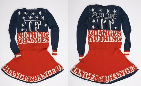Lisa Anne Auerbach, If Nothing Changes, It Changes Nothing, 2008