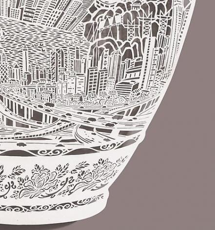 Vase-re(location) detail