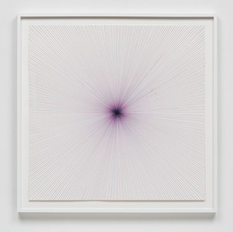 Aaron Sandnes, Lock and Load (Bulls Eye) (Red then Blue; Red then…), 2013