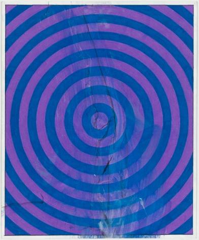 Punk & Faggotry (Lavender & Turqoise Target), 2015
