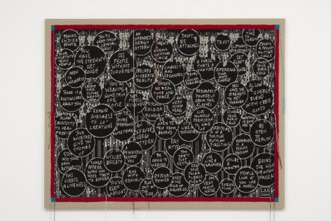 Lisa Anne Auerbach, Psychic Knitting Circle, 2014