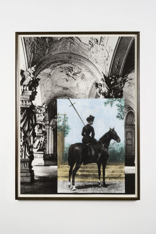 Tragedy II (Sissi at the Sala Terrena), 2007, Archival inkjet print on watercolor paper