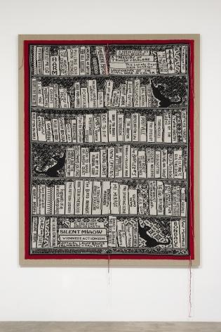 Lisa Anne Auerbach, Book Shelf 1, 2014