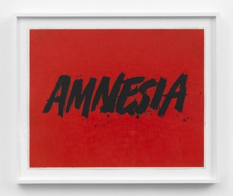 Andrew Brischler Amnesia, 2016