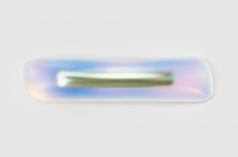 Prime Ellipsoid (Titanium), 2018, Blow-molded acrylic