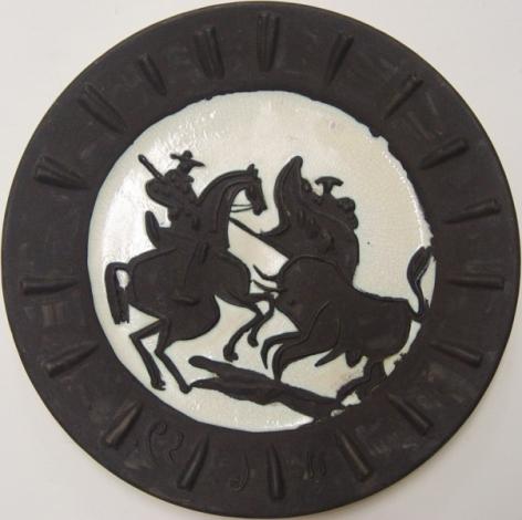 Pablo Picasso Scène de Tauromachie 1959 Ceramic