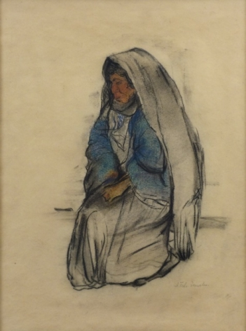 Anna Ticho Bedouin Woman
