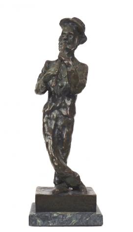 Mane-Katz Fiddler Bronze
